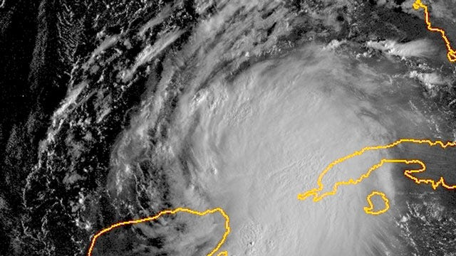 Tropical Storm Karen Forms In The Gulf Of Mexico