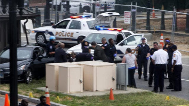 Woman Dead After Chaotic Capitol Car Chase