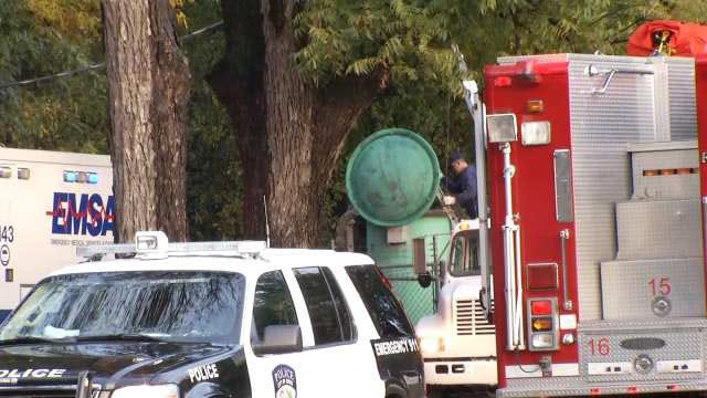 Firefighters Rescue Jenks City Employee From Sewer
