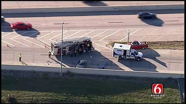 Tulsa Man Arrested For Manslaughter After Woman Dies In Crash On 169