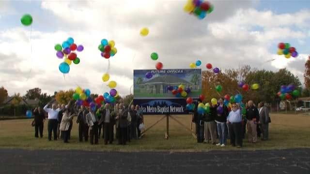 Tulsa Metro Baptist Network Celebrates Groundbreaking On New HQ