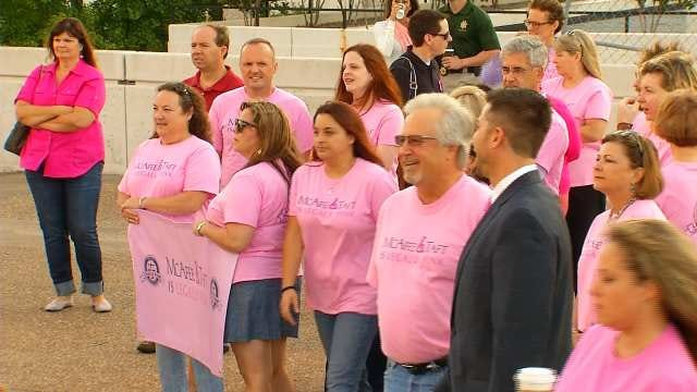 Tulsa Bar Association Holds 3rd Annual 'Think Pink' Event