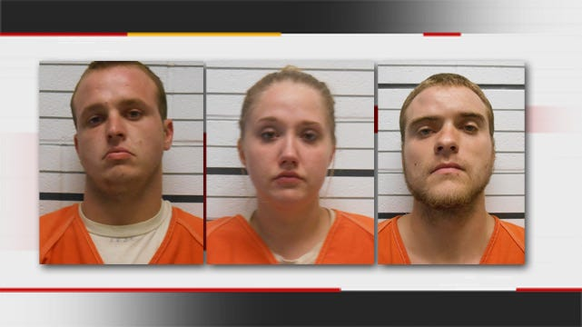 Creek County Sheriff's Office Arrests 3 Suspects In Strong-Arm Robbery