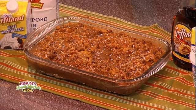 Pumpkin Coffee Cake With Maple Glaze