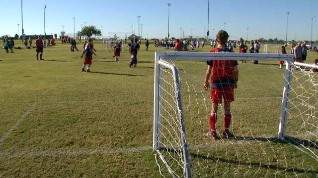 Teams From Across Oklahoma Meet For Special Olympics Soccer Competition