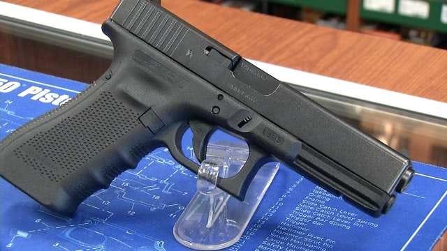 Bixby Youth Football Team Raffles Off Glock Handgun