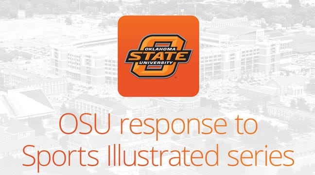 OSU Responds To Allegations With Special Web Page