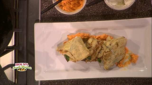 Dill Crepes