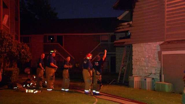 Victim Overwhelmed With Gratitude For Firefighters After Tulsa Apartment Fire