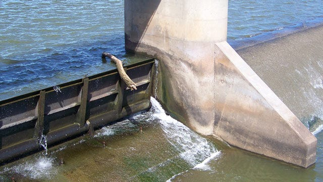 Bid Awarded For Repairs To Tulsa's Zink Dam Gates