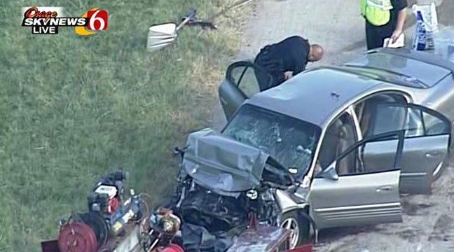 Police Say Toddler Injured In Tulsa Car Crash Has Died
