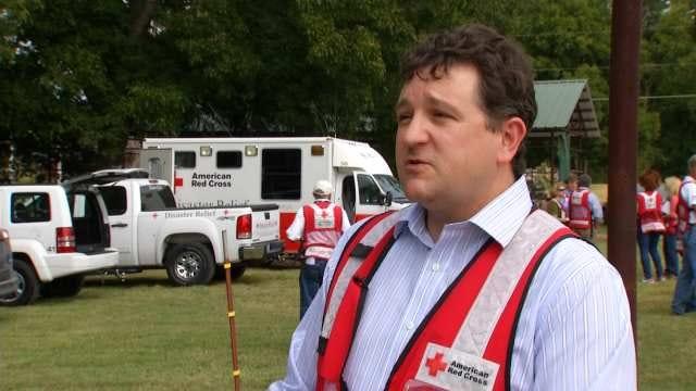 Red Cross Volunteers Run Disaster Drill In Broken Arrow