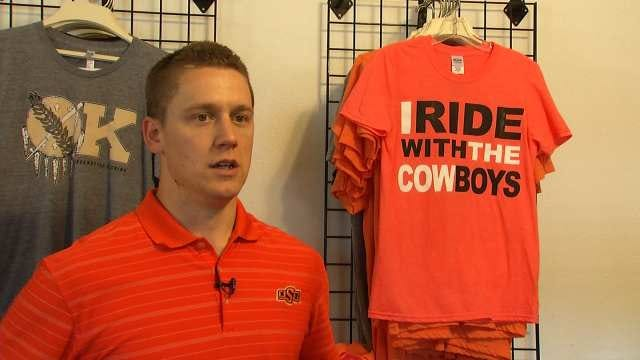 Tulsa Business Owner Produces Shirts Supporting OSU