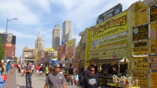 Last Day For BBQ At Tulsa Rock 'N Ribs Festival