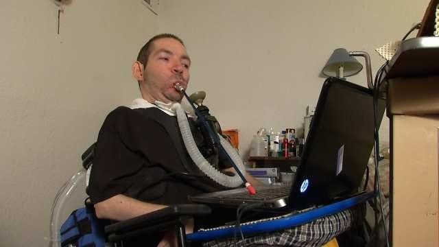 Tulsa Quadriplegic Man's Stolen Van Recovered, But Badly Damaged
