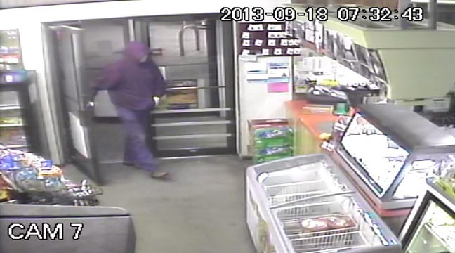Cherokee County Deputies Search For Suspect In Convenience Store Robbery