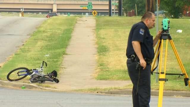 Elderly Tulsa Bicyclist Injured After Struck By Car