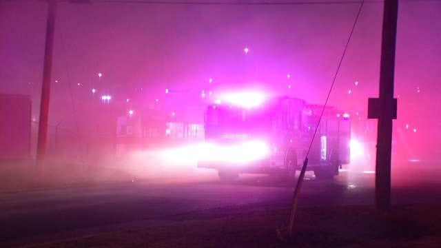 West Tulsa Storage Facility Damaged By Fire