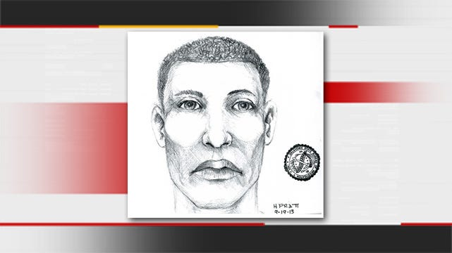 Tulsa Police Release Sketch Of Carjacker Who Ran Over Elderly Woman