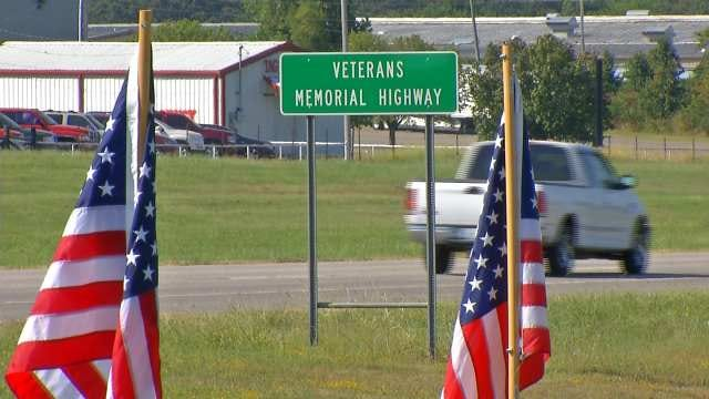 Road To Fort Gibson National Cemetery Renamed 'Veterans Memorial Highway'