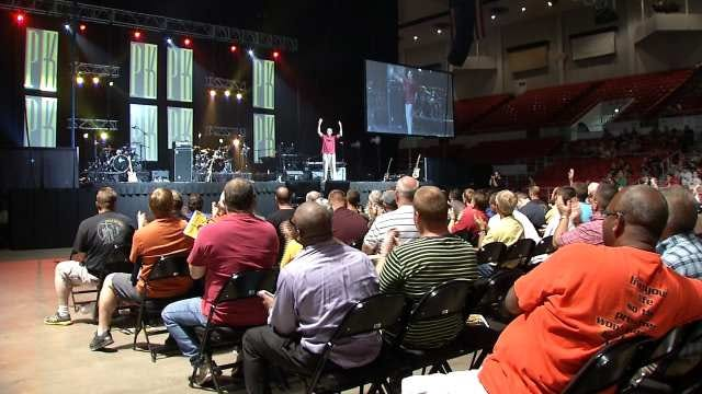 Promise Keepers Conference Aims To Motivate Men Through Faith