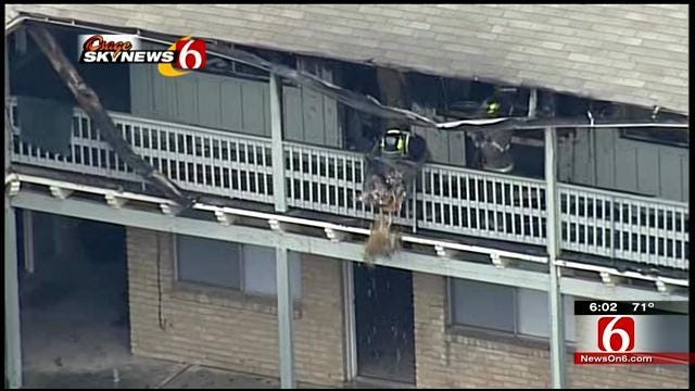 TFD: Cause Of Apartment Complex Fire Was Accidental