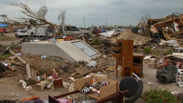Air Force Medic Says Oklahoma Helped Her Cope With Losing Home To Tornado
