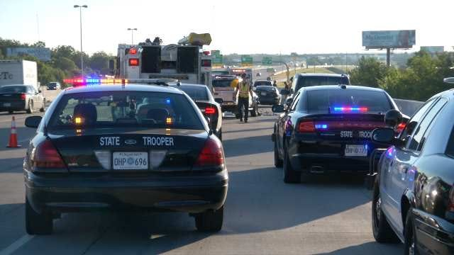 Crash On Eastbound I-244 In Tulsa Ties Up Traffic