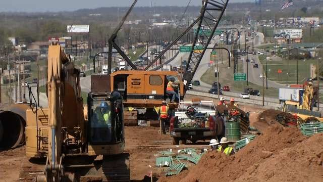 ODOT: More Traffic Changes For I-44 Widening Project In Tulsa