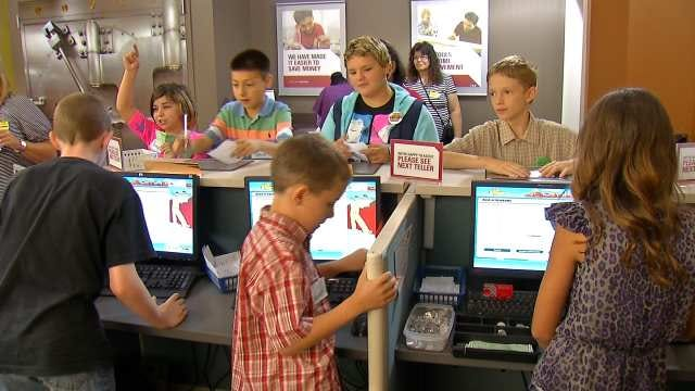 Oklahoma Students Learn Life Important Lessons At BizTown