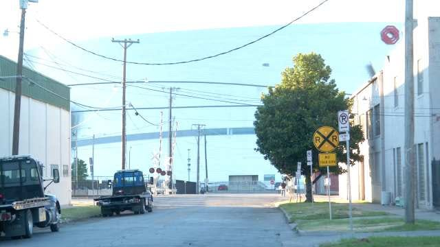 Railroad Construction Work To Close Crossing In Tulsa
