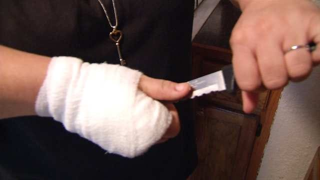 Tahlequah Mother-Son Duo Fend Off Burglar In Bloody Fight