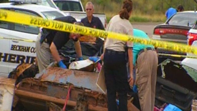 '69 Camaro Recovered From Foss Lake Shows Signs Of Wreck
