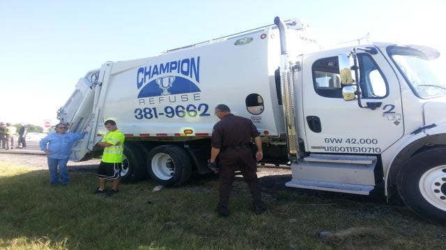 Arkansas Man Killed When Motorcycle Collides With Trash Truck In Tulsa