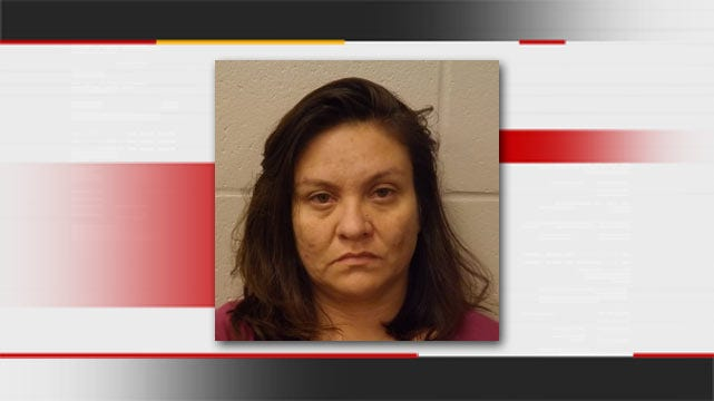 Copan Woman Accused Of Smoking Meth In Front Of Toddler