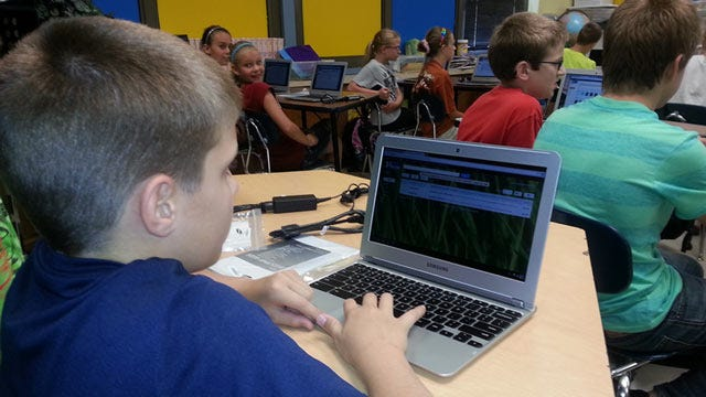 Google Grant Funds 600 Laptop Computers For Pryor Students