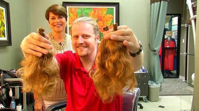 News On 6 Photojournalist Donates Hair To Locks Of Love