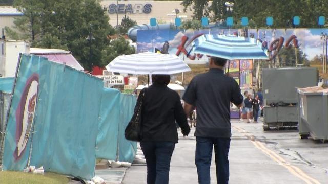 Rain Puts Damper On Tulsa State Fair's Outdoor Activities