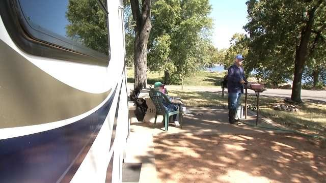 Campers Fear Shutdown Will Close Oklahoma Corps Of Engineers Campgrounds