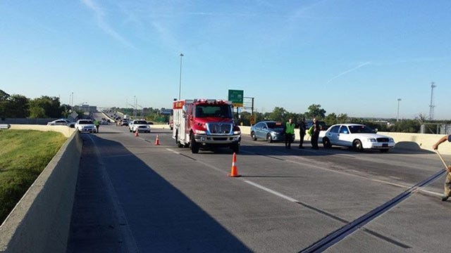 Crash On Highway 169 Stops Northbound Traffic At I-44
