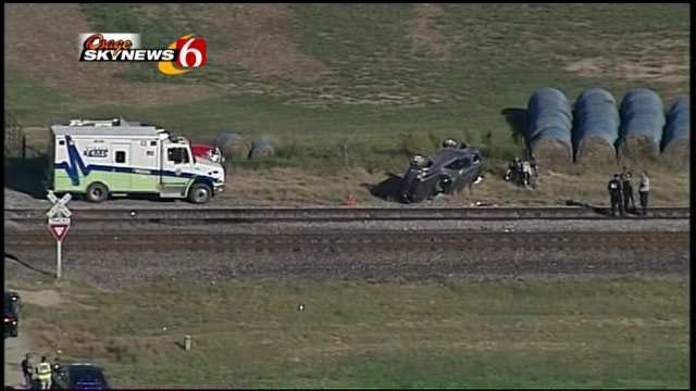 Two Sisters Killed When Train Collides With SUV In Nowata County