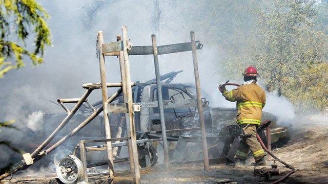 Oil Field Worker Killed In Explosion, Fire In Creek County