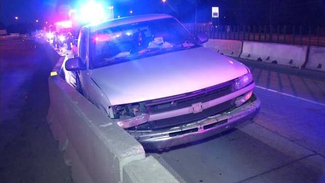 Two Crashes Slow Morning Traffic On I-44 In Tulsa