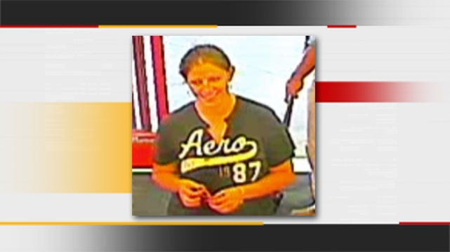 Jenks Police Seek Person Of Interest In Credit Card Theft
