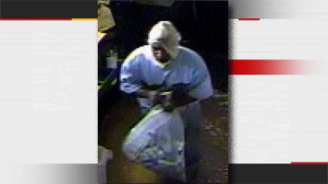 Surveillance Camera Records Man Stealing Cigarettes From Tulsa Store