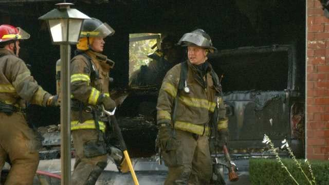 West Tulsa Neighbors Pull Together After House Fire