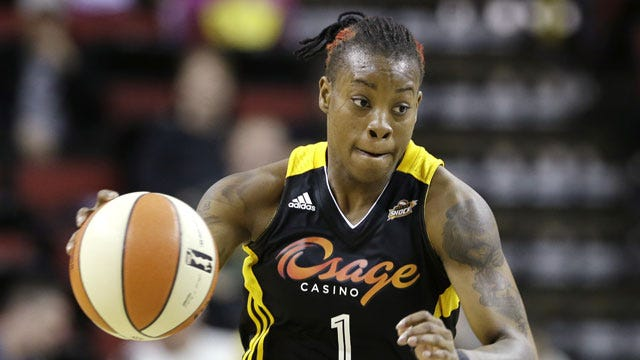 Shock's Williams Is WNBA Western Conference Player Of The Week