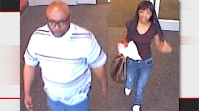 Tulsa Police: Pair Uses Stolen Credit Card, Buys $6,000 In Gift Cards