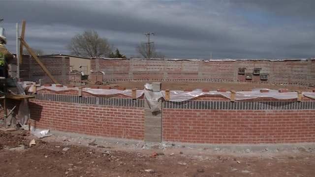 Builders Say Pawnee Domed Tornado Shelter 'Tornado Proof'