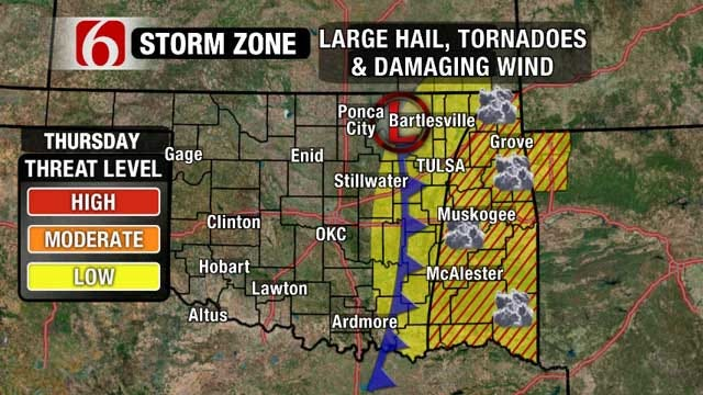 News On 6 Meteorologists: Active Weather Pattern Brings Chance Of Storms